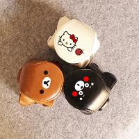 20180522022458582现货 佳能小单反200D相机包 皮套 卡通创意 黑色熊本熊 来图定制 200D 棕色