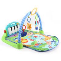 健身架美版粉色BMH4849 婴儿宝宝脚踏钢琴音乐游戏毯现货 抖音