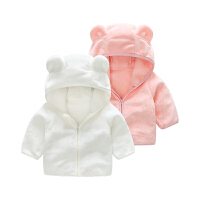 男婴儿衣服春款6个月1岁女宝宝新生儿上衣秋冬季长袖开衫外出外套