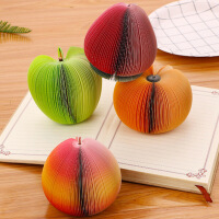 创意苹果蔬菜水果便签本 DIY便签条N次便签 学生白领便签