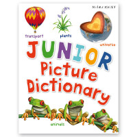 Junior Picture Dictionary 英文原版 儿童图片词典