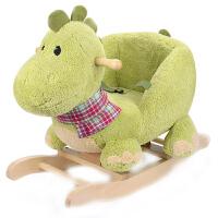 儿童木马实木摇马玩具摇摇马宝宝摇椅周岁礼物婴儿摇摇车