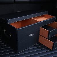 车小匠 奥迪后备箱储物盒 a3 a4l a5 a6 a8 q3 q5 q7 奥迪-经典黑色
