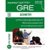 【预订】Geometry GRE Strategy Guide, 4th Edition
