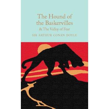 巴斯克维尔的猎犬和恐惧之谷 英文原版 Hound of Baskervilles 阿瑟柯南道尔 经典文学著作 精装
