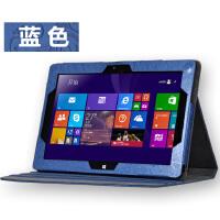 海尔 W1048S皮套 w1048s保护套 Haier w1048s Win8平板电脑10寸套 时尚印花系列:蓝色。收