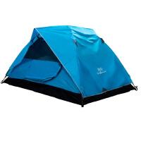 野外露营家庭帐篷 户外3-4人防雨防风双层帐篷