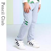 【2件3折:38.7】铅笔俱乐部男童运动裤子2020春装新款中大童儿童宽松休闲长裤童装