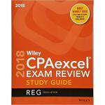【预订】Wiley Cpaexcel Exam Review 2018 Study Guide: Regulation