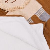ins婴儿童小被子幼儿园宝宝盖毯纯棉针织毯子毛毯礼盒春秋夏空调
