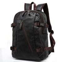 男士双肩包 休闲运动旅行包  男包中高大学生书包 男背包 电脑包