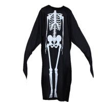 万圣节服装化妆舞会儿童衣服道具恐怖骷髅骨架鬼衣魔鬼面具