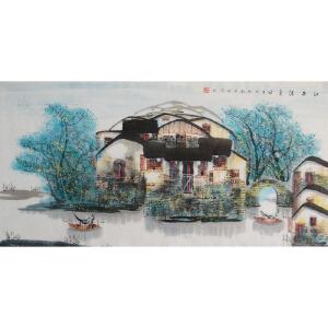 中美协     于永茂    江南清夏   /04