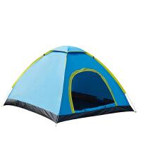帐篷户外2-3-4人全自动速开家庭单双人公园野营野外露营