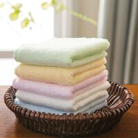 婴儿小方巾全竹毛巾宝宝洗脸擦汗口水面巾