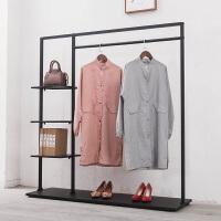 展示架组合铁艺男女装店货架挂衣服架子服装店置物架落地式 其他