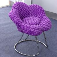 办公椅电脑椅吧台椅时尚花朵椅梅花椅子休闲椅懒人沙发凳子
