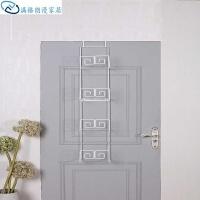 衣柜置物架多层包包家居收纳架子创意展示门后整理挂式浴室卧室白色书架