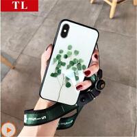 【包邮】苹果6s手机壳iphone6plus保护套韩国粉色立体雏菊花镜子防摔苹果iphone6s苹果6 plus手机壳