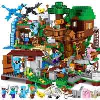 乐高我的世界6拼装积木7儿童益智玩具10岁男孩子8拼图9学生14智力