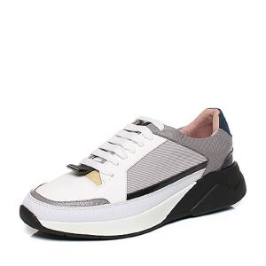 Tata/他她秋时尚拼接风撞色潮款绑带男休闲鞋U3593CM6
