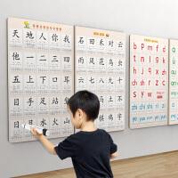 儿童宝宝一年级幼儿园识字认字有声点读挂图神器早教学习墙贴全套