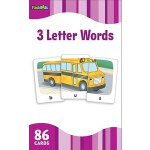 Flash Kids Flash Cards: 3 Letter Words 英文原版 Flash Kids卡片:3个