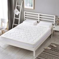 ???乳胶床垫子床褥 棉布针织棉底部网眼布床上用品 白色