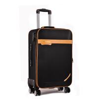 拉杆箱万向轮防水牛津布24寸旅游旅行箱女22男行李箱28寸帆布箱包SN4819 黑色 270