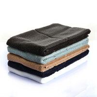 日本爱尚佳品纯棉洗脸毛巾2条吸水缎档可裁成4段小毛巾R1002