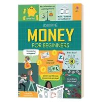 儿童理财启蒙 英文原版 Money for Beginners 财商培养 趣味图文科普 英文版 进口原版英语书籍