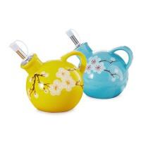 陶瓷油醋壶  厨房用品创意油醋瓶  酱油瓶调味瓶两个装