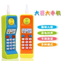 宝宝6-12个月7小孩玩具手机婴儿幼儿童0-1-3岁益智早教音乐电话机