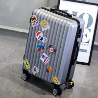行李箱男万向轮旅行箱女密码箱24学生拉杆箱包26韩版20皮箱子28寸SN5498
