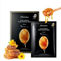 JMsolution 玻尿酸蜂蜜面膜贴补水保湿10片/盒