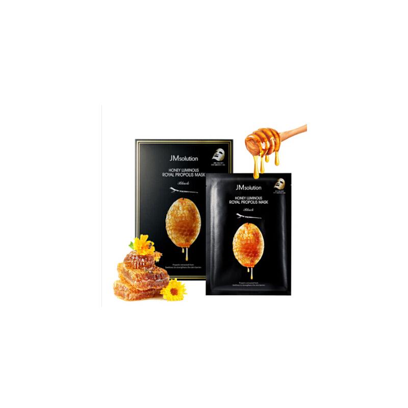 JMsolution 玻尿酸蜂蜜面膜贴补水保湿10片/盒补水保湿告别烦恼 打造水润肌肤