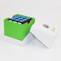 ?圣手魔方三阶顺滑盒套装方圆 速拧魔方3阶专业比赛益智玩具?