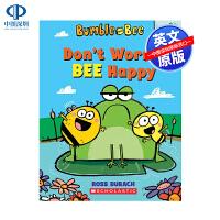 英文原版 别担心,蜜蜂快乐:橡子书 Don't Worry, Bee Happy: An Acorn Book (Bum