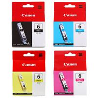 佳能原装 BCI-6BK黑色墨盒 C青色 M红色 Y黄色 佳能 iP4000 iP4000R iP5000 iP6000