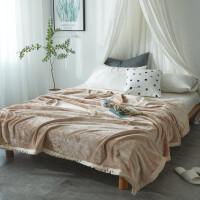 加厚金云貂绒毛毯床单云貂绒毯子礼毛毯珊瑚法兰绒床单