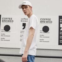 【1件3折到手价:41.7】美特斯邦威T恤男新款夏季青少年休闲时尚个性印花短袖T恤
