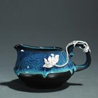 陶瓷日式公道杯钧瓷窑变茶海匀杯功夫茶具分茶器