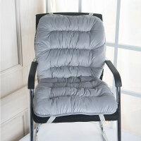 坐垫办公室冬季椅子靠垫一体屁股垫电脑椅凳子垫保暖办公室座垫加厚