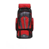 新款户外登山包男背包双肩包80L大容量旅游包防水行李包野营背囊