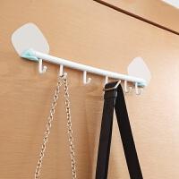 无痕黏胶挂钩强力门后挂钩卫生间免钉钩子厨房浴室 蓝色