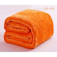 纯色珊瑚绒双人毛毯被子法兰绒单人小空调毯子办公室沙发午睡盖毯