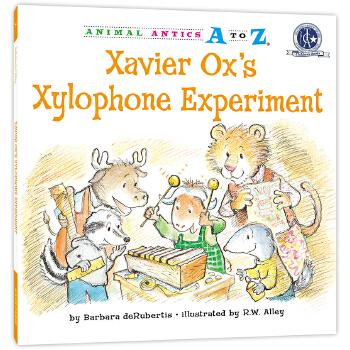 幼儿园里的26个开心果:一起做木琴 Animal Antics A to Z : Xavier Ox's Xylophone Experiment 英语启蒙绘本,含地道美语音频。满足孩子认字母、学单词、练表达、培养好性格好品质等多重需要,适合幼儿园至小学低中年级孩子阅读。先后获得美国《学习杂志》教师选择儿童读物奖和家庭读物等奖。