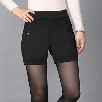 西装短裤女秋冬新款冬款加厚外穿弹力新款秋冬百搭中年妈妈春