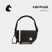 CRUMPLER澳洲小野人单肩包休闲帆布斜挎包韩版运动商务小背包