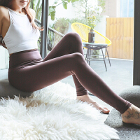 显瘦修身高腰健身裤女弹力紧身瑜伽运动裤女速干提臀蜜桃裤